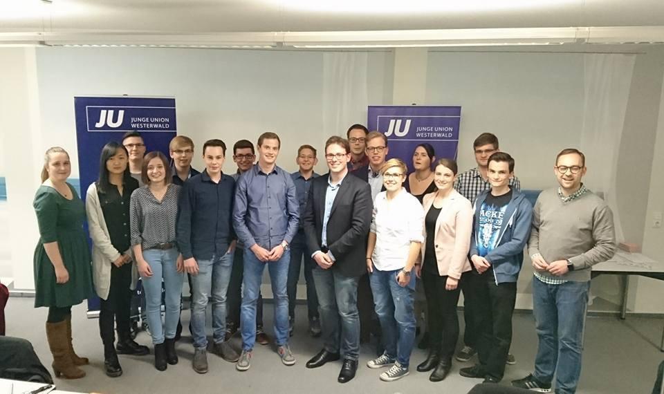 Junge Union Westerwald wählte neuen Kreisvorstand in Nomborn