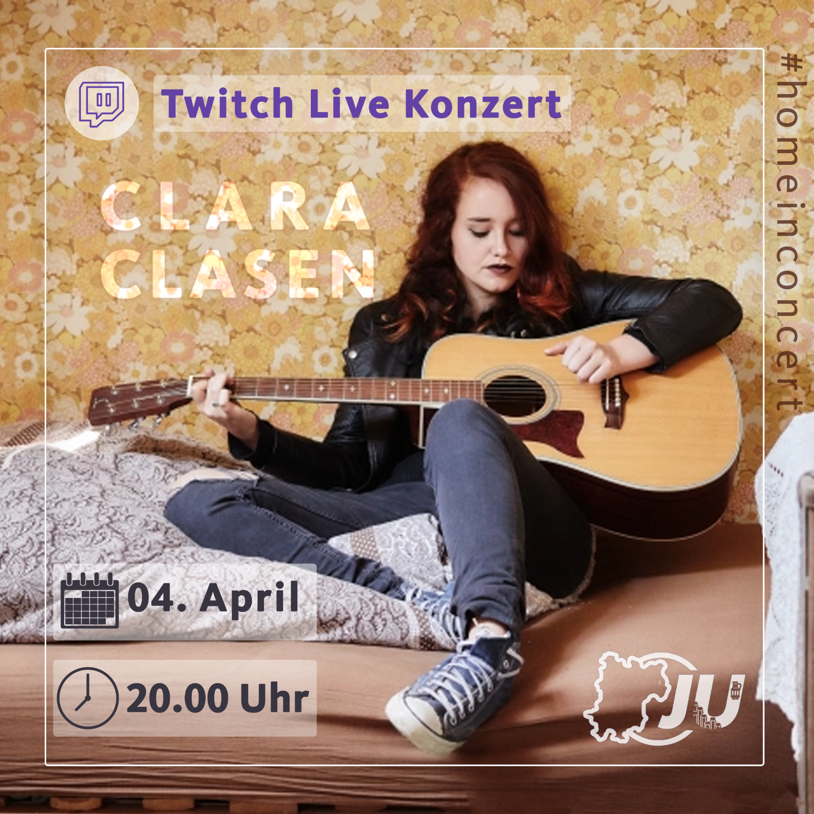 JU-Online Konzert mit Clara Clasen